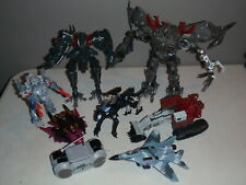 Transformers Movie & More Figures Lot Frenzy Ravage Dreadwing Megatron More