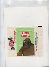 King Kong card Topps monster card wrapper 1965 Stunning example
