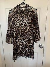 Leopard Print Dress H&M Sexy Brand New