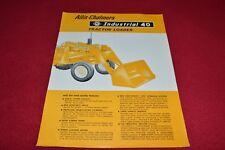 Allis Chalmers 40 Tractor Loader Dealer's Brochure YABE14