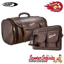 Case Top Box Roll Bag SET - VESPA PX GTS/GT/GTV/LX LAMBRETTA (FITS ANY CARRIER)
