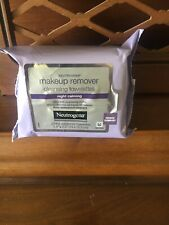 3 Neutrogena Make-up Remover Cleansing Towelettes Night Calming 75 wipes total