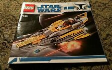 Lego Star Wars 7669 LEGOS Guide Book Manual Toy Collectible Sci Fi Lovers Rare