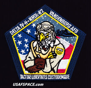 Authentic NROL-82 DELTA IV H  VAFB USAF USSF Classified SATELLITE Mission PATCH