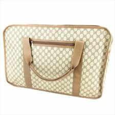 Gucci Body bag G logos Beige PVC Leather Woman unisex Authentic Used T8758