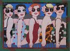 Needlepoint Handpainted Maggie Co Lets Misbehave 11x15