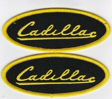 1956 CADILLAC SEW/IRON ON PATCH EMBLEM BADGE EMBROIDERED ESCALADE ELDORADO