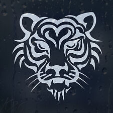 Tiger Head Car Decal Vinyl Sticker For Wall Or Window Bumper Panel