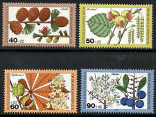 (Ref-8272) Berlin 1979 Woodland Flowers and Fruits   SG.B582/585 Mint (MNH)