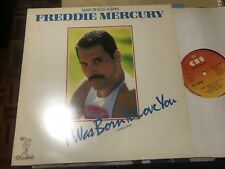 "FREDDIE MERCURY QUEEN SPANISH 12"" MAXI SPAIN CBS 85 I WAS BORN TO LOVE YOU"