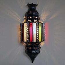 Aplique de Pared Oriental marroquí Lámpara pantalla cristal Nihal