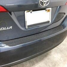 2014-2017 fits Corolla 1pc Rear Bumper Applique Scratch Guard Protector Covers
