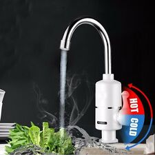 Tankless Electric Cold Hot Water Instant Heater Faucet Kitchen Heating Mixer Tap