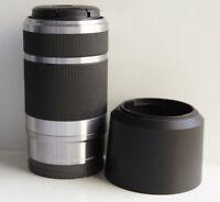 Sony E Mount 55-210mm f/4.5-6.3 OSS SEL55210 Silver Lens