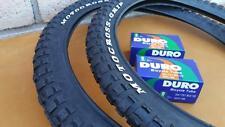 "20x2.125 BMX Motocross Grip Tires & Tubes Dirt Bike Style Jump 20""x 2.125"" NEW"