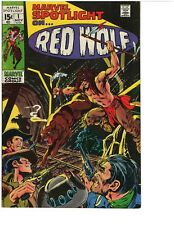MARVEL SPOTLIGHT #1  RED WOLF AND MARVEL COMICS GROUP RED WOLF #1 (2 PACK)