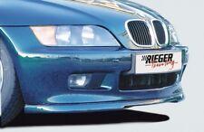 Rieger Frontspoilerlippe schwarz matt für BMW Z3 (R/C) 4-Zylinder Roadster