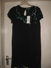 Eucalyptus Sadia Tunic schwarz Gr. M Designer Kleid NEU