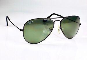 Vintage 1980's B&L Ray Ban Aviator, 58mm Lens, L2823 Sunglasses + Case