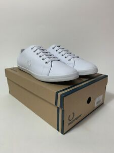 Fred Perry Kingston Leather White, Size: UK:10