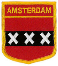 """Amsterdam (Netherlands) Embroidered Patch 6CM X 7CM (2 1/2"""" X 2 3/4"""")"""