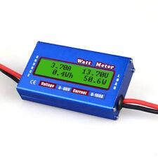 100A Balance Voltage Battery Power Analyzer Watt Meter Balancer Charger RC Accs