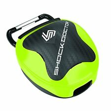Shock Doctor Anti-Microbial Mouthguard Case Shock Green