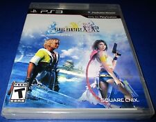 Final Fantasy X/X-2 HD Remaster Sony PlayStation 3 *Factory Sealed! *Free Ship!