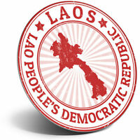 Awesome Fridge Magnet - Laos People's Democratic Republic Cool Gift #4721