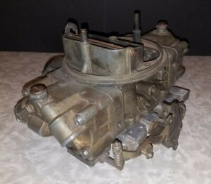 1968 Ford Mustang Shelby GT 350 Holley Carburetor 4118-S Carb 4118 S 725 cfm