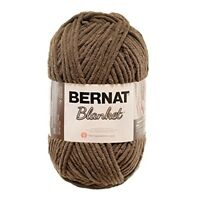 Bernat 16111010029 Blanket Yarn, 10.5 Ounce, Taupe, Single Ball - Big Yarn