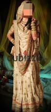 Pakistani / Indian - Banarsi Chiffon Bridal lengha 4 Piece Dress (Size 12 - 16)