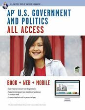 AP® U.S. Government & Politics All Access Book + Online + Mobile-ExLibrary