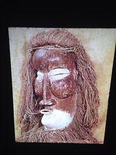 Yaka Zaire Mask: African Tribal Art Vintage 35mm Slide