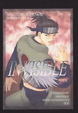 Naruto Yaoi Doujinshi Kakashi x Iruka KakaIru - Invisible - Sannasubi Shinjuku
