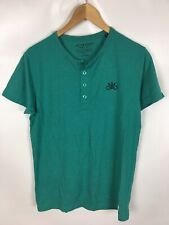 JACK & JONES T-Shirt, grün, Größe M, Baumwolle