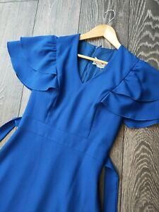 Vintage Vera Mont Paris Maxi Prom/Evening Dress Size 6/8