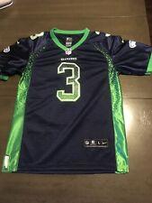 Nwot Nike Russell Wilson Seattle Seahawks Elite Navy Jersey Youth Large