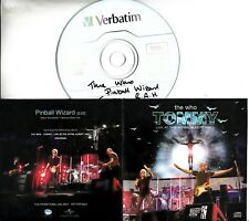 THE WHO Pinball Wizard Live At The Royal Albert Hall 2017 UK 1-trk promo test CD