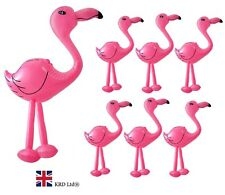 6 x INFLATABLE PINK FLAMINGO Blow Up Toy Animal Inflate Party Decoration UK 2 FT