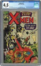 Uncanny X-Men 23 CGC 4.5 - Featuring Count Nefaria! - WHITE PAGES!