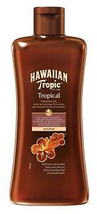 Hawaiian Tropic by Hawaiian Tropic Tanning Oil Dark 200ml