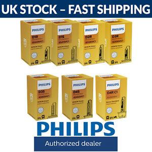 Philips Xenon Vision HID Bulbs D1S D1R D2S D2R D3S D3R D4S D4R D5S Available