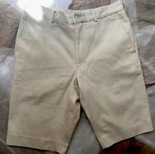 Comme Des Garcons White Thick Cotton Shorts Medium
