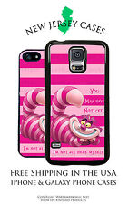 Alice in Wonderland Cheshire Cat Phone Case for Apple iPhone & Samsung Galaxy