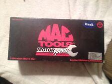 Action, NIB, Mac Tools Motor Sports, Dale Jarrett #32 White Rain Stock Car Bank