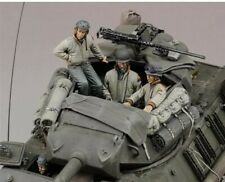 1:35 US Army Tank crew WW2 includes 4 resin figures