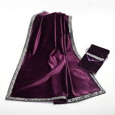 Altar Tarot Cards Bag Table Cloth Divination Wicca Velvet Tapestry Vintage New Q