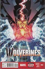 WOLVERINES #2 - RAY FAWKES SCRIPTS - MARVEL NOW - 2015