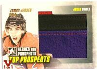 2009-10 ITG Heroes & Prospects Jumbo Jersey Gold Jared Cowen Vault Red 1/1